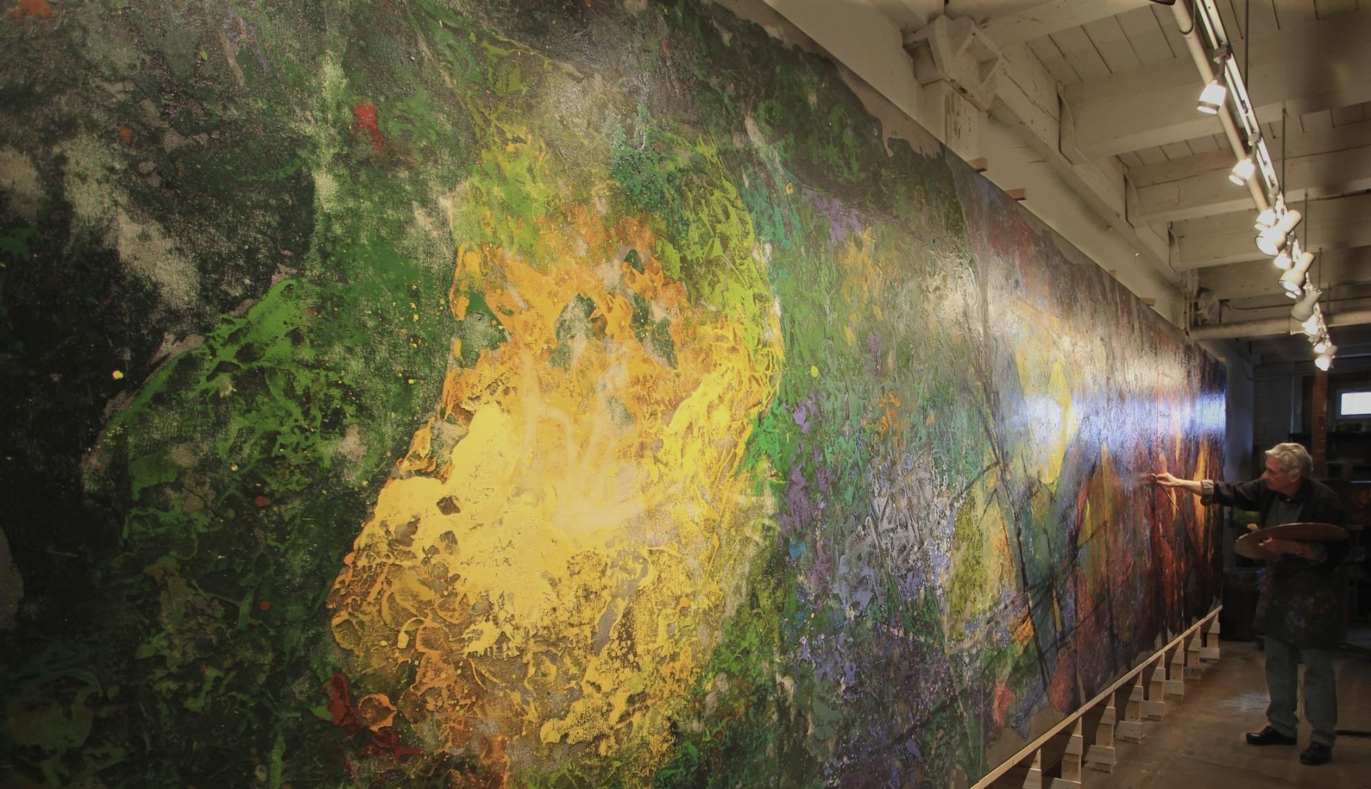 Steve Carpenter - The Four Seasons Mural at Village Gate - Creation ...